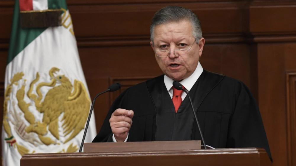 Si no asistió o no informó el presidente de la Suprema Corte por Caso Ayotzinapa, está en su derecho: AMLO - Arturo Zaldivar SCJN