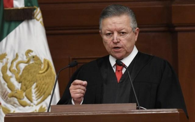 """Zaldívar confirma política de tolerancia cero en el Poder Judicial, advierte que """"limpiará la casa"""" - Foto de SCJN"""