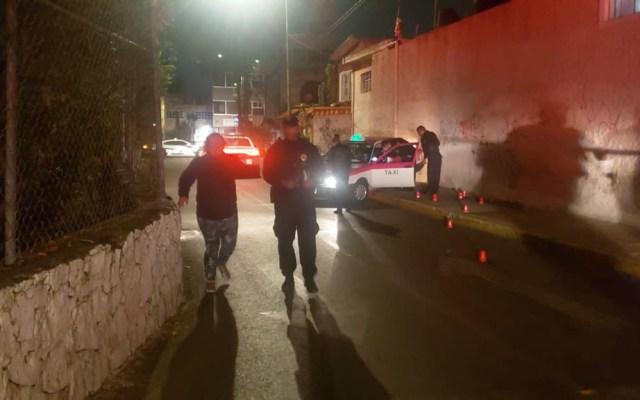 Asesinan a dos taxistas en Tlalpan y Xochimilco - Asesinato de Taxista en Tlalpan. Foto Especial