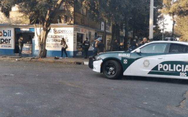 Ataque con armas de fuego deja un muerto y dos heridos en Iztacalco - Foto de Milenio
