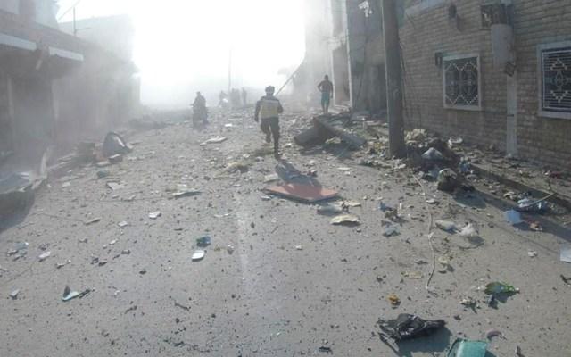 Al menos 20 civiles muertos por ataques contra zona rebelde de Siria - Al menos 20 civiles muertos por ataques contra zona rebelde de Siria