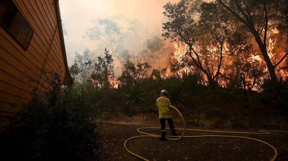 Van más de 600 casas destruidas por incendios en Australia - Australia incendios fuego 05122019
