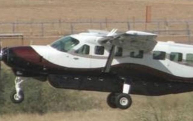 Se pierde avión pequeño tras despegar de aeropuerto de Hermosillo - Foto de @BcsProcivil