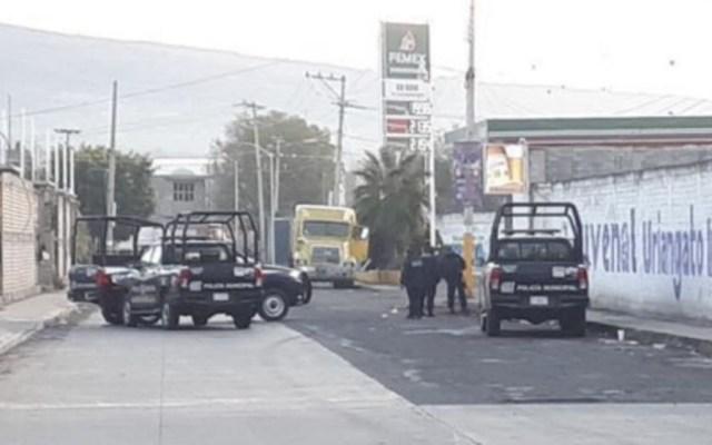 Ataque armado en Uriangato, Guanajuato deja seis muertos - Foto de @OficialEnLaMira