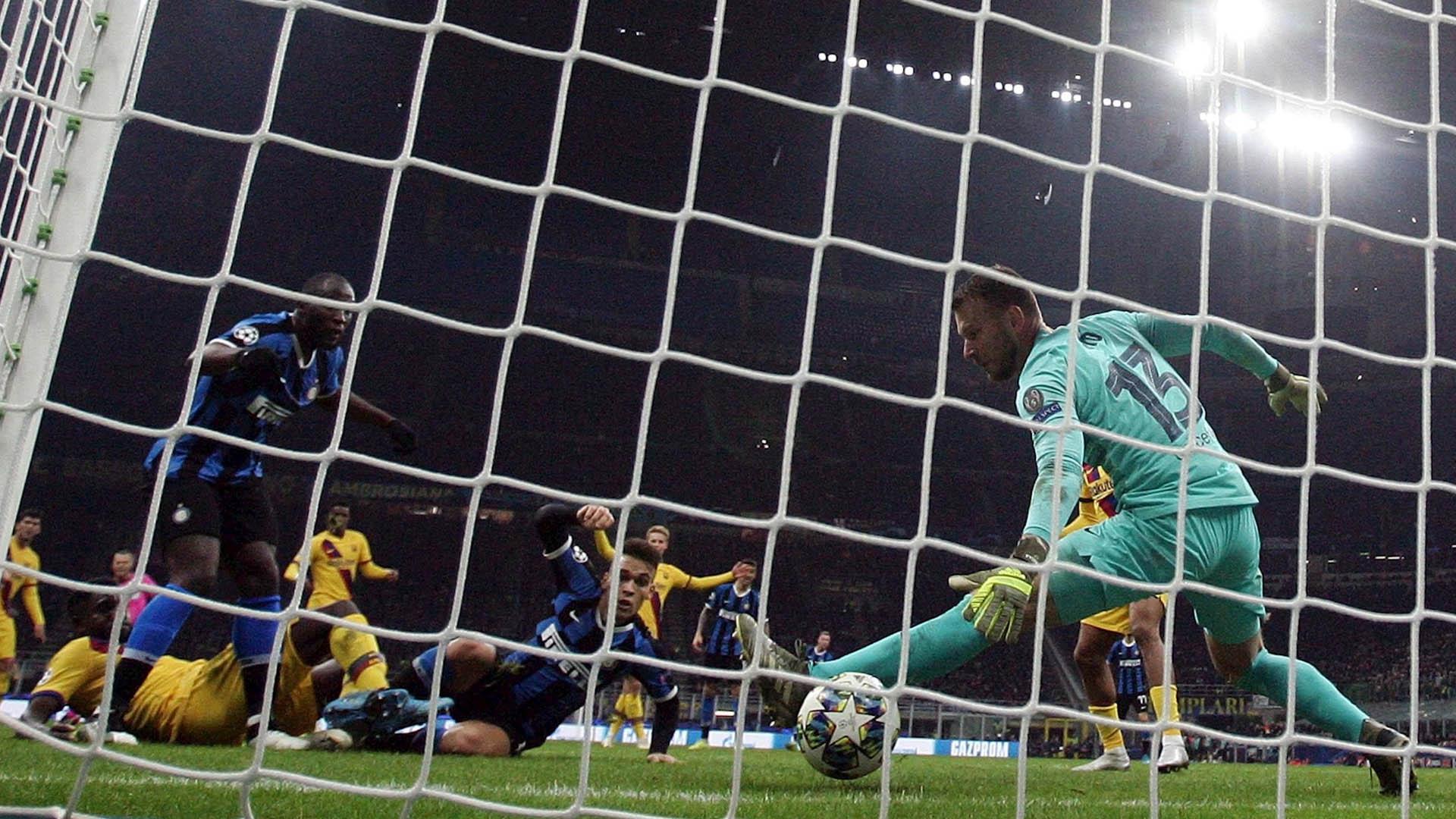 Barcelona Inter de Milán partido Champions