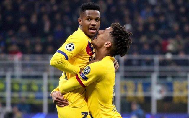 Barcelona termina invicto la fase de grupos de la Champions - Barcelona Inter de Milán partido Champions