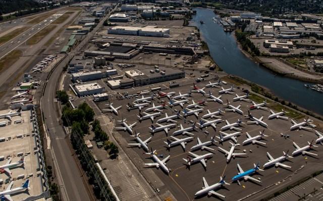 Empleados de Boeing conocían defectos del 737 Max antes de accidentes fatales - Boeing estacionados 737 Max Seattle
