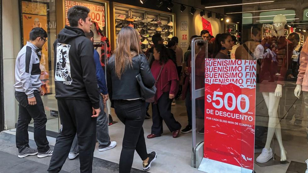 El Buen Fin 2019 elevó 5.7 por ciento ventas de la ANTAD - Foto de Notimex