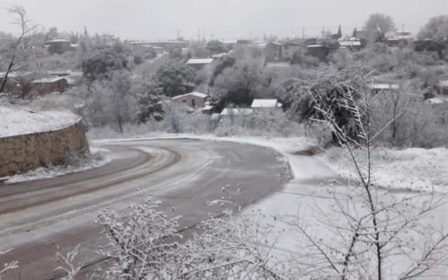 #Video Intensa nevada cubre Cananea, Sonora - Cananea, Sonora, amenece con nevada. Foto de soycobre.com