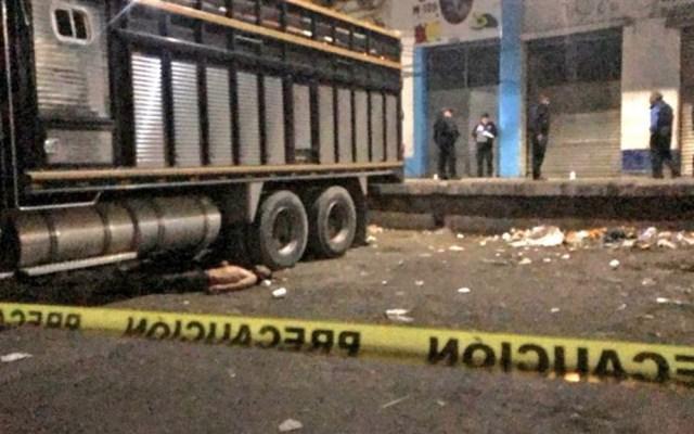 Asesinan a comerciante en bodega de la Central de Abasto - Central de abasto asesinado Iztapalapa disparos
