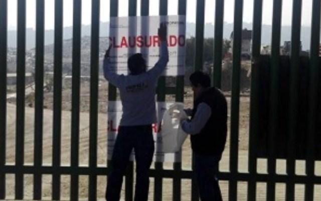 Clausuran relleno sanitario de Naucalpan - Foto de @milenio_edomex