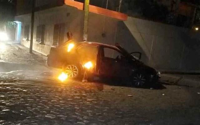 #Video Incendian auto de mujer que atropelló a niños en Morelos - Foto de de Diario de Morelos