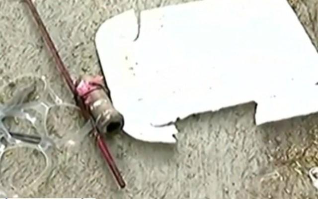 Bebé sufre graves quemaduras tras explotarle un cohete - Foto de Foro TV
