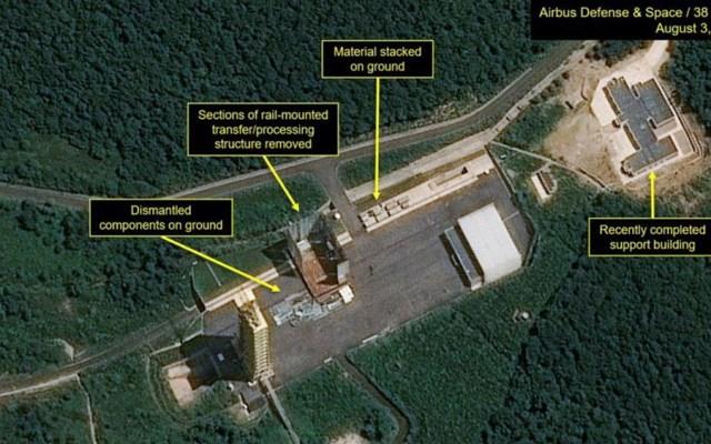 """Corea del Norte confirma nueva """"prueba crucial"""" en base de lanzamiento de satélites - Corea del Norte prueba"""