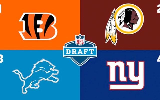Así será el orden de selección del Draft de la NFL en 2020 - Así será el orden de selección del Draft de la NFL en 2020
