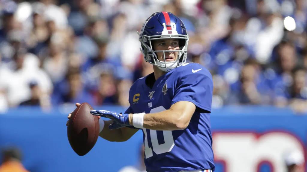 Eli Manning tomaría control de la ofensiva de Giants