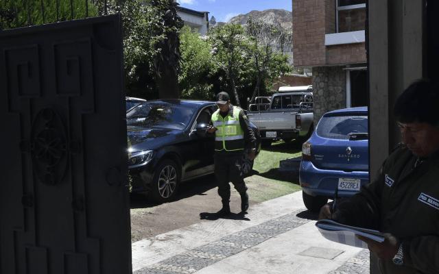 Agentes españoles quedan en medio de disputa en embajada mexicana en Bolivia - Embajada de México en Bolivia. Foto de EFE