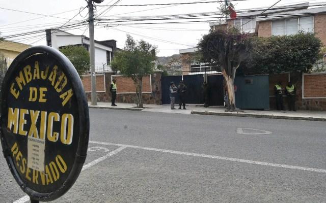 Tensión entre los gobiernos de México y Bolivia por asedio de Embajada - Embajada de México en Bolivia 2