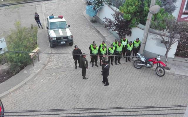 Amenaza de ingreso a Embajada de México en Bolivia no tiene precedente: SRE - Embajada de México en Bolivia con vigilancia policial