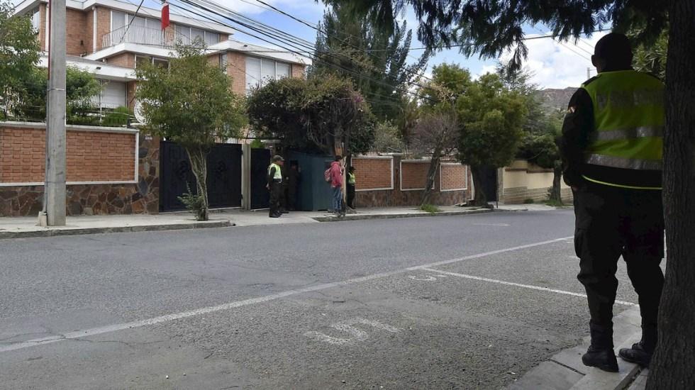 México denuncia que policía boliviana bloqueó a diplomáticos españoles - Embajada México en Bolivia