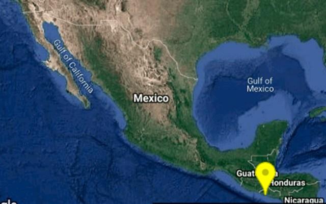 Sismo de magnitud 5.2 remece a Ciudad Hidalgo, Chiapas - Epicentro de sismo en Ciudad Hidalgo, Chiapas. Foto de @SSNMexico