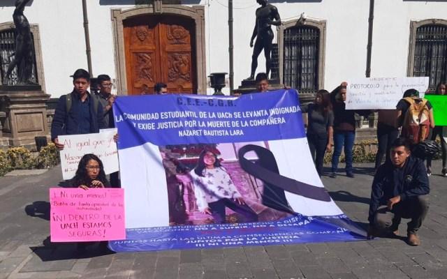 Rector de UACh pide castigo ejemplar por feminicidio de Nazaret Bautista - Rector de UACh pide castigo ejemplar por feminicidio de Nazaret Bautista