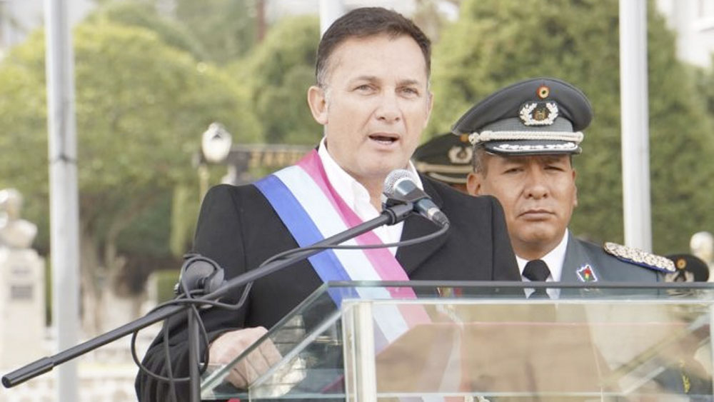 Ministro boliviano admite diálogo con Ejército para salida de Evo Morales - Ministro boliviano admite diálogo con Ejército para salida de Evo Morales