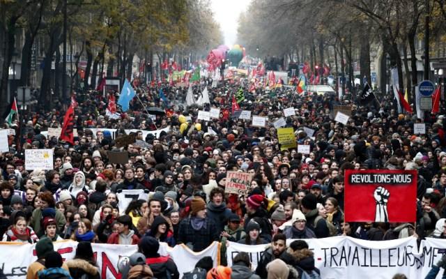 Planes de pensiones en Francia generan huelga general - Foto de EFE