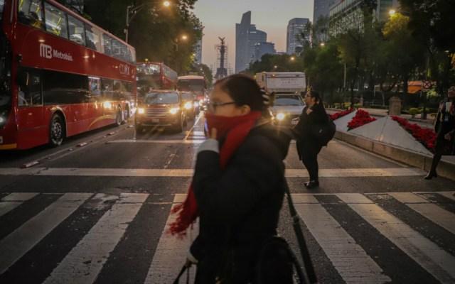 Activan Alerta Naranja por frío en la Ciudad de México - Foto de Notimex