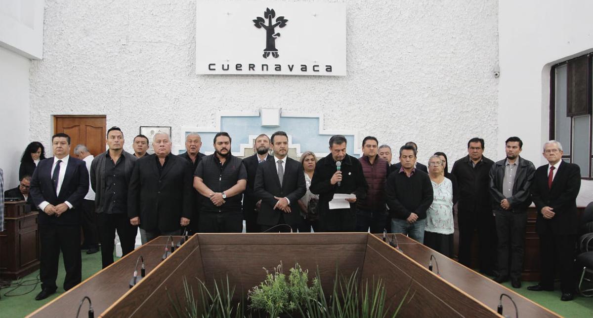 Gobierno de Cuernavaca lamenta el asesinato del comandante Juan David Juárez López