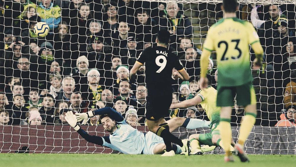 #Video Raúl Jiménez hace el gol de la victoria para el Wolverhampton - #Video Raúl Jiménez hace el gol de la victoria del Wolverhampton