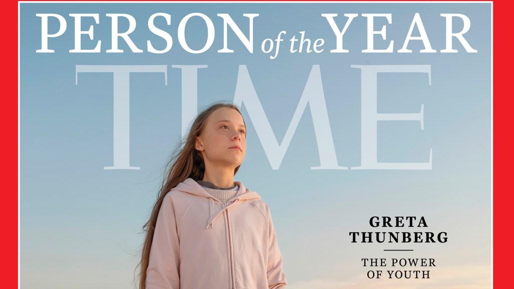 Greta Thunberg es la persona del año para la Revista Time - Greta Thunberg es la 'persona del año' para la Revista Time. Foto de Time