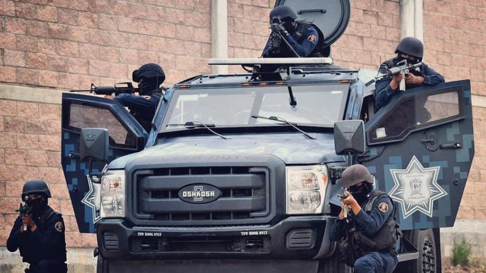Guanajuato es el estado donde más policías son asesinados - Grupo Táctico Operativo de las Fuerzas de Seguridad Pública del Estado de Guanajuato. Foto de @SeguridadGto