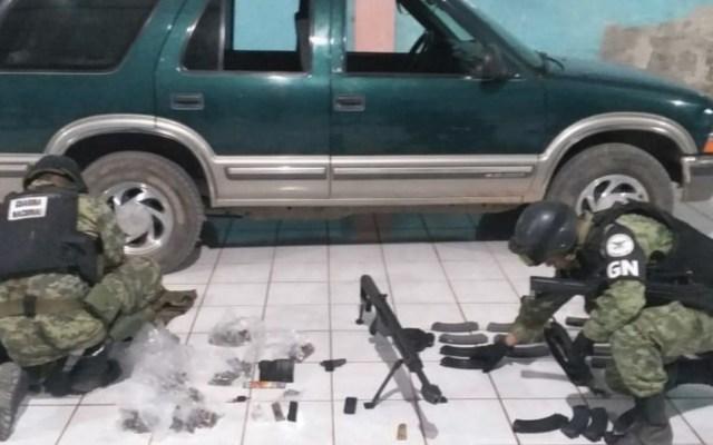 Guardia Nacional incauta arsenal en Guerrero - Foto de Guardia Nacional