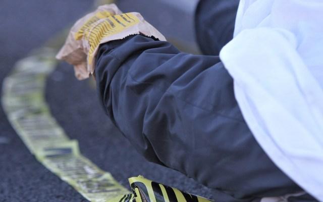 Durante diciembre asesinaron a 78 personas al día en promedio - Hombre muerto. Foto de Notimex / Archivo