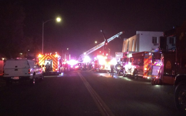 """Seis muertos en el """"peor incendio en la historia"""" de Las Vegas - Foto de @seanktnv"""
