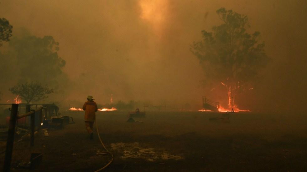 Mueren dos bomberos en los incendios de Australia - Foto de EFE