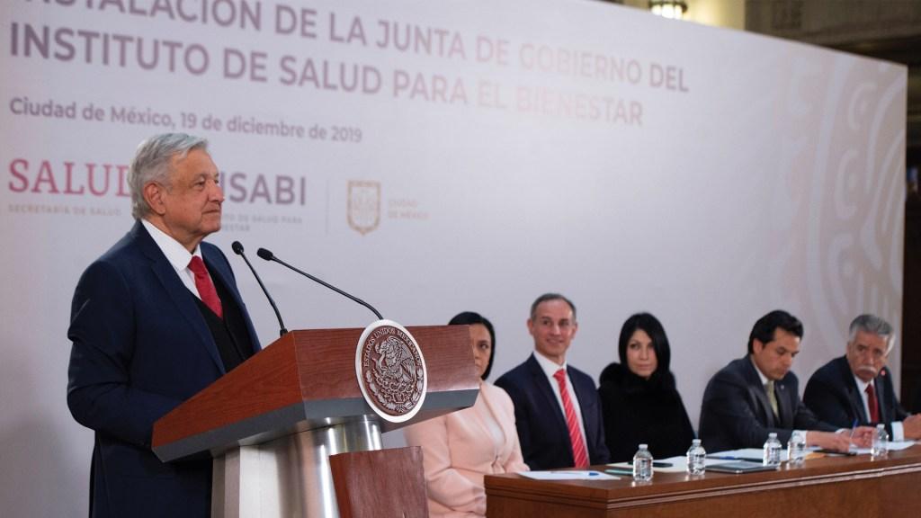 AMLO garantiza derecho a la salud con la creación del Insabi - Foto de EFE