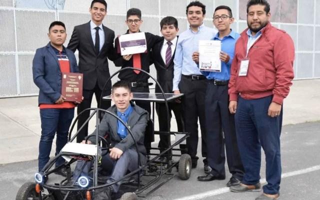 Alumnos del IPN crean Go Kart que funciona con energías limpias - IPN politécnico go kart energía
