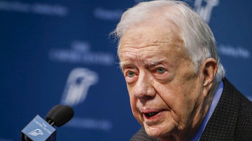 Ingresan a Jimmy Carter al hospital por infección en tracto urinario - Jimmy Carter presidente Estados Unidos