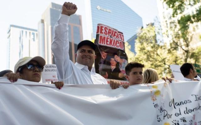 AMLO confirma reunión con familia LeBarón; lamenta enfrentamiento en Coahuila - Julián LeBarón Marcha Ciudad de México López Obrador