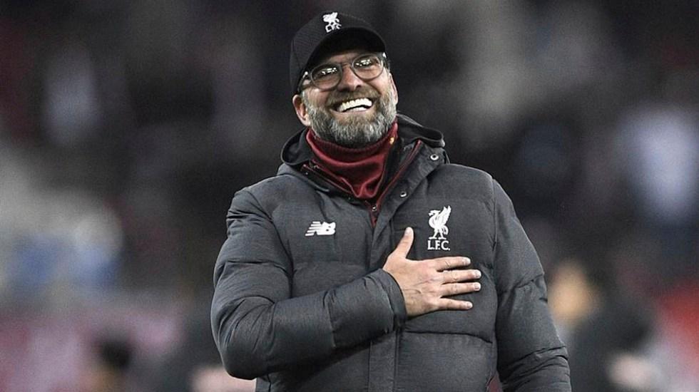 Klopp confía que partido en casa ayudará a Liverpool a salir de mala racha - Jürgen Klopp renueva con el Liverpool hasta 2024