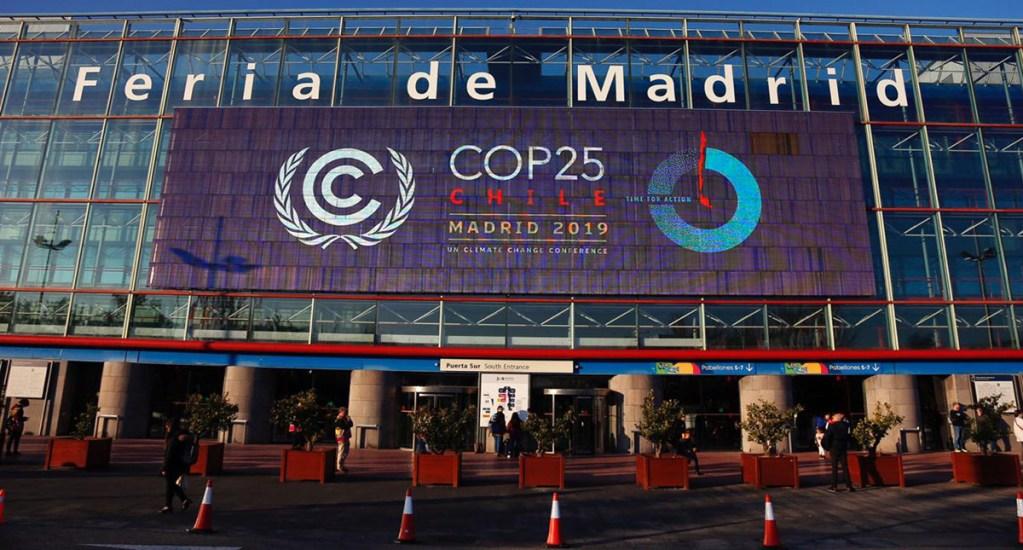 COP25 concluye con 73 países comprometidos en reducir emisiones para 2020 - La Feria de Madrid fue sede de la COP25. Foto de @COP25CL