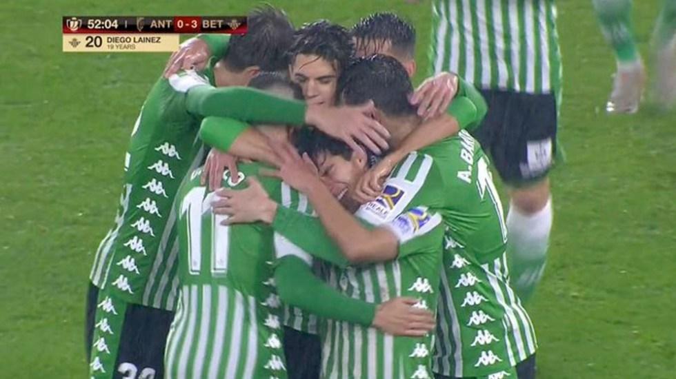 #Video Gol de Diego Lainez con el Betis - #Video Gol de Diego Lainez con el Betis