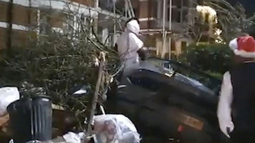 #Video Jugador del West Ham choca su Lamborghini en Londres - #Video Jugador del West Ham choca su Lamborghini en Londres