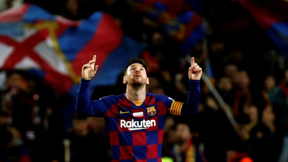 Con triplete, Lionel Messi lidera goleada de Barcelona sobre Mallorca - Foto de Mexsport