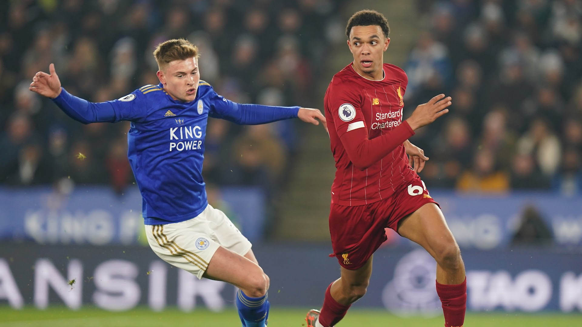 Liverpool Leicester partido premier