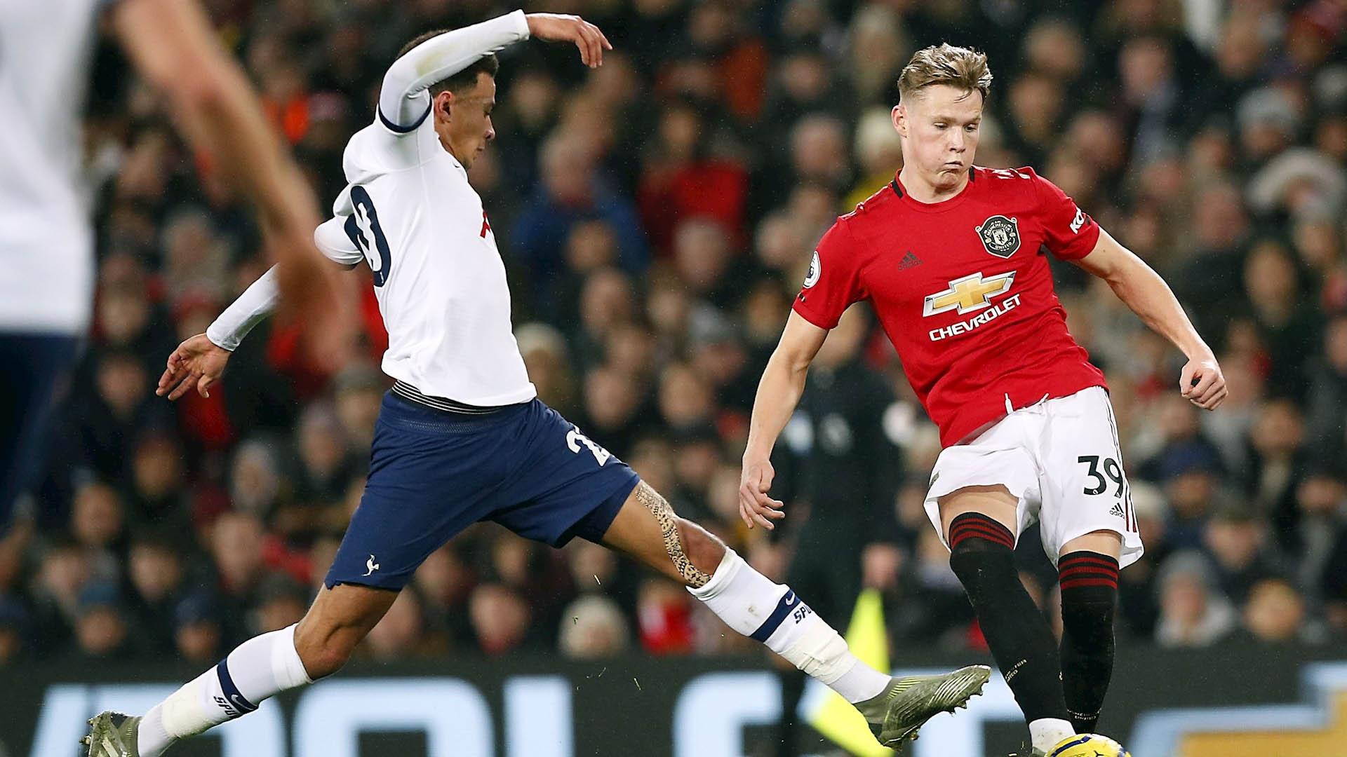 Manchester United partido Tottenham