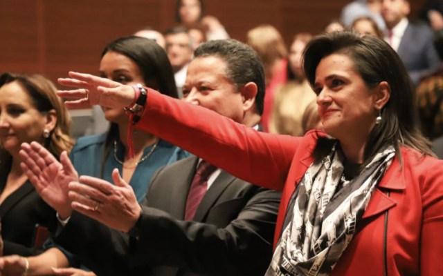 Margarita Ríos-Farjat es nueva ministra de la SCJN - Foto de @NoticiaCongreso