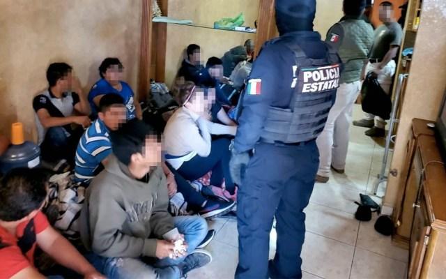 Rescatan a 21 migrantes centroamericanos en Tamaulipas - Rescatan a 21 migrantes centroamericanos en Tamaulipas